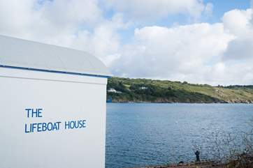 The old Lifeboat House is now a fish restaurant and up the road you also have Chloe's Cafe and The Bay Hotel.