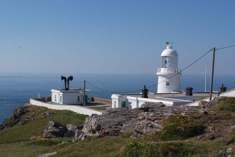 Pendeen lighthouse a short cliff walk away.