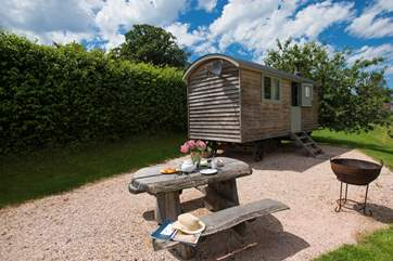 A fabulous spot for a luxury glamping holiday in a great location.