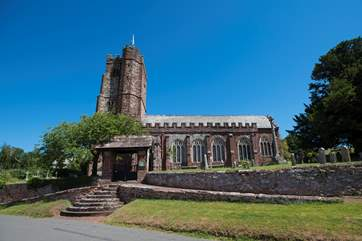 And an impressive church too.