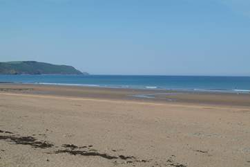 Widemouth Bay is only a short distance from The Old Byre.