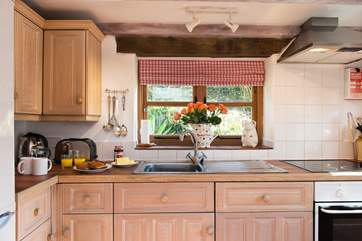 The cottage style kitchen with its own very special jug