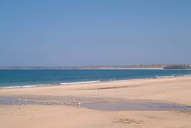 Carbis Bay Beach.