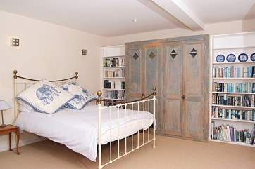 The master bedroom is a room with real 'wow' factor.