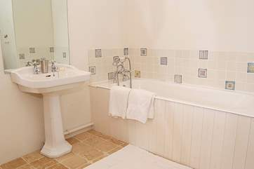 This is the en suite bathroom for the master bedroom.
