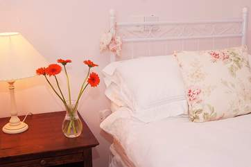 There are welcoming details and touches throughout this lovely cottage. You will feel very welcome.