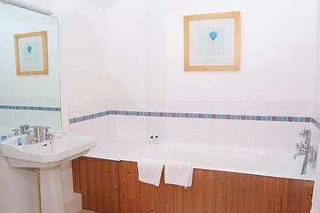 This is the en suite bathroom for the second bedroom.