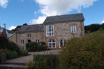 This is the setting for The Coach House, the whole of this attractive detached stone building.