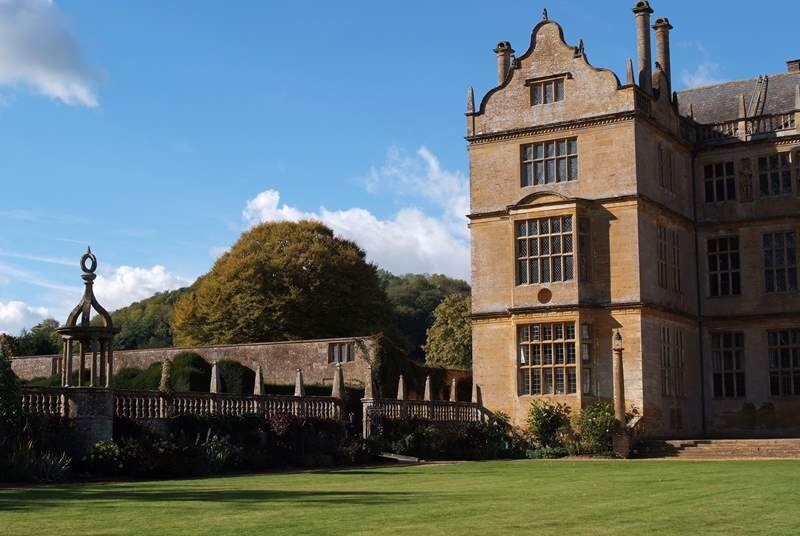 South Somerset is home to a wealth of beautiful historic houses. This is Montacute House just outside Yeovil.