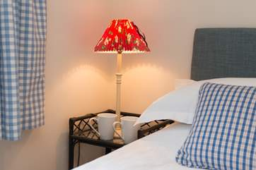 The bed linens are top quality - you will be assured of a great night's sleep.