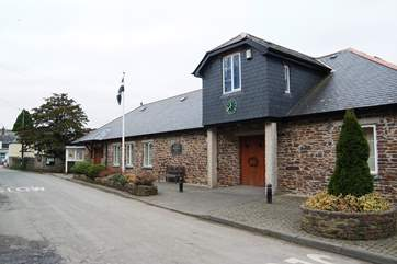 The village hall offers plenty of activities and a warm welcome to visitors.