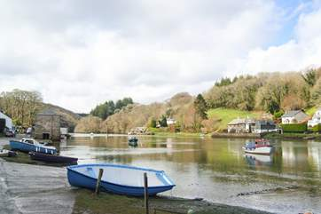 Lerryn is thought to have partly inspired Kenneth Grahame's Wind in the Willows!