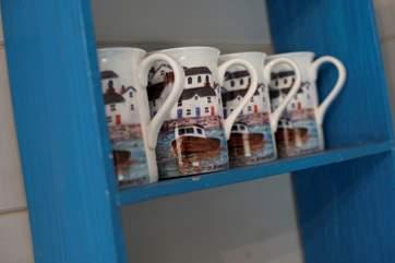 Lovely coffee mugs.