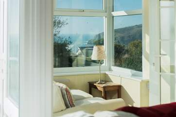 This view is also enjoyed from the conservatory to the front of the house, a great spot to sit with a good book.