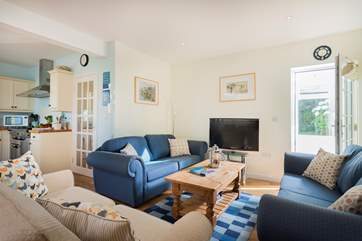 Choose where you want to sit and relax, here, in the front sitting room, conservatory or if it's sunny, in the garden of course!
