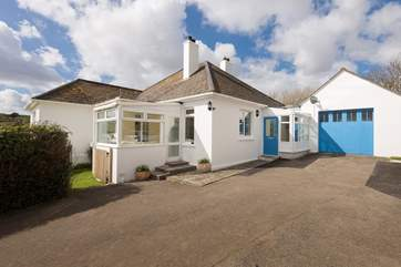 The house has been extended over the years to offer a deceptively spacious holiday home.