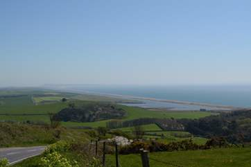 Drive the Jurassic Coast road between Bridport and Weymouth for spectacular views in both directions.