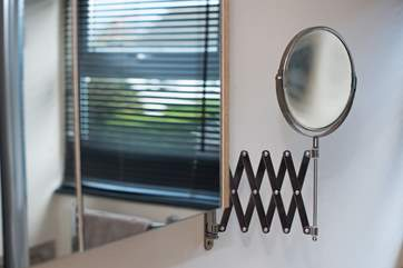 Useful shaving mirror.