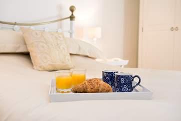 Breakfast in bed - yes please!