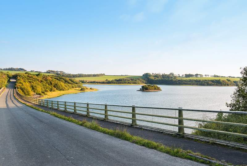 Roadford Lake offers an array of waterbased activities.
