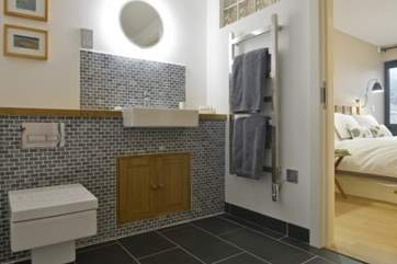 Ensuite shower room to Bedroom 1.