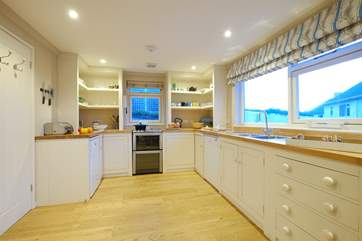 The kitchen-area.