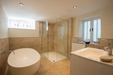 One of the gorgeous bathrooms.