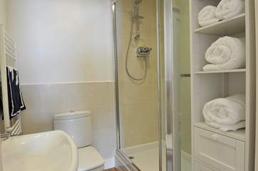 The en suite shower-room to Bedroom 1.