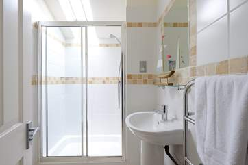 One of the en suite shower-rooms.