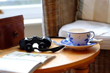 Relax with a cup of tea.
