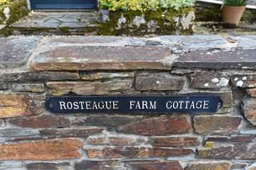 Rosteague Farm Cottage.