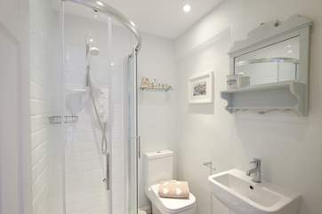 The en suite shower-room to Bedroom 1.