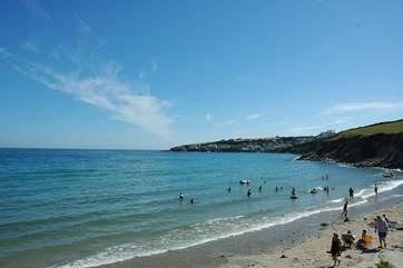 Porthcurnick Beach