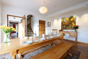 The dining-room.