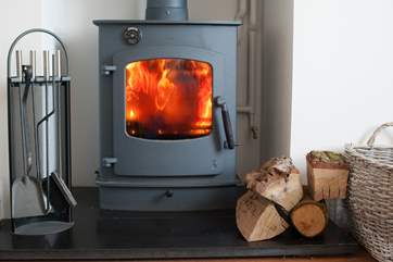 Warm and toasty at any time of the year.