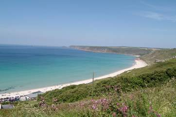Sennen Cove is just a short drive away.