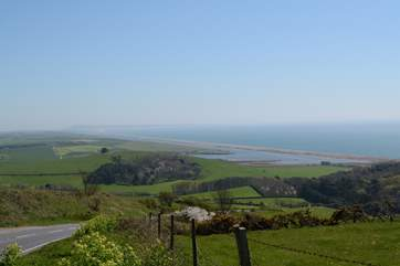 Drive the coast road from Bridport to Weymouth for spectacular views in both directions.