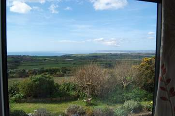 The view from the bedrooms is rather spectacular.