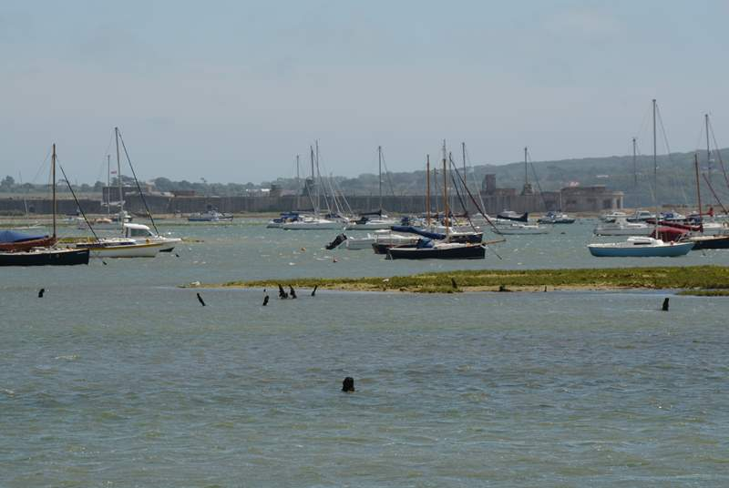 The Lymington-Keyhaven nature reserve has mud flats and salt marshes which create a rare and special habitat for wildlife.
