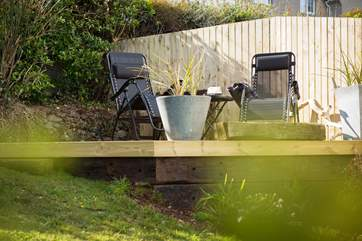Take a pew on the raised deck which catches the sun and has the best views.