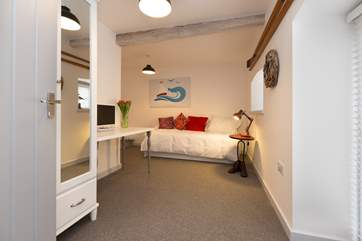 This is the twin bedroom with its own style - spot the bedside tables!