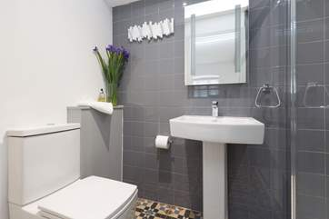 This is the en suite shower-room for the ground floor double bedroom.