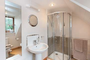 There is a large en suite shower-room.
