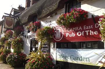 East Dorset's CAMRA pub of the year for 2016 is 100 yards form Northgate.