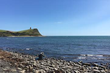 Visit Kimmeridge, a fabulous part of the Jurassic Coat, great for fossil hunting.
