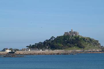 St Michael's Mount is just a couple of miles away.