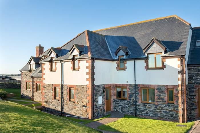 Cottages near Cornish Rock Tors