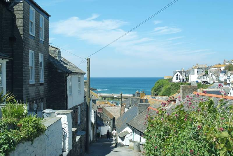 The fishing village of Port Isaac is a great place to explore.