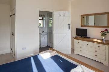 The en suite to the master bedroom.