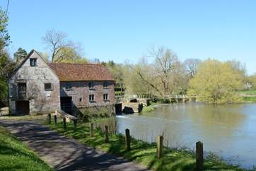Nearby Sturminster Mill, an ancient flour mill on the River Stour, with three floors of working machinery to explore.